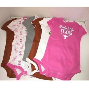 Texas onesie tees 6 newborn